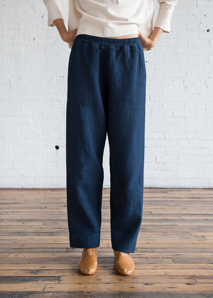 Black Crane Dual Canvas Pant Midnight