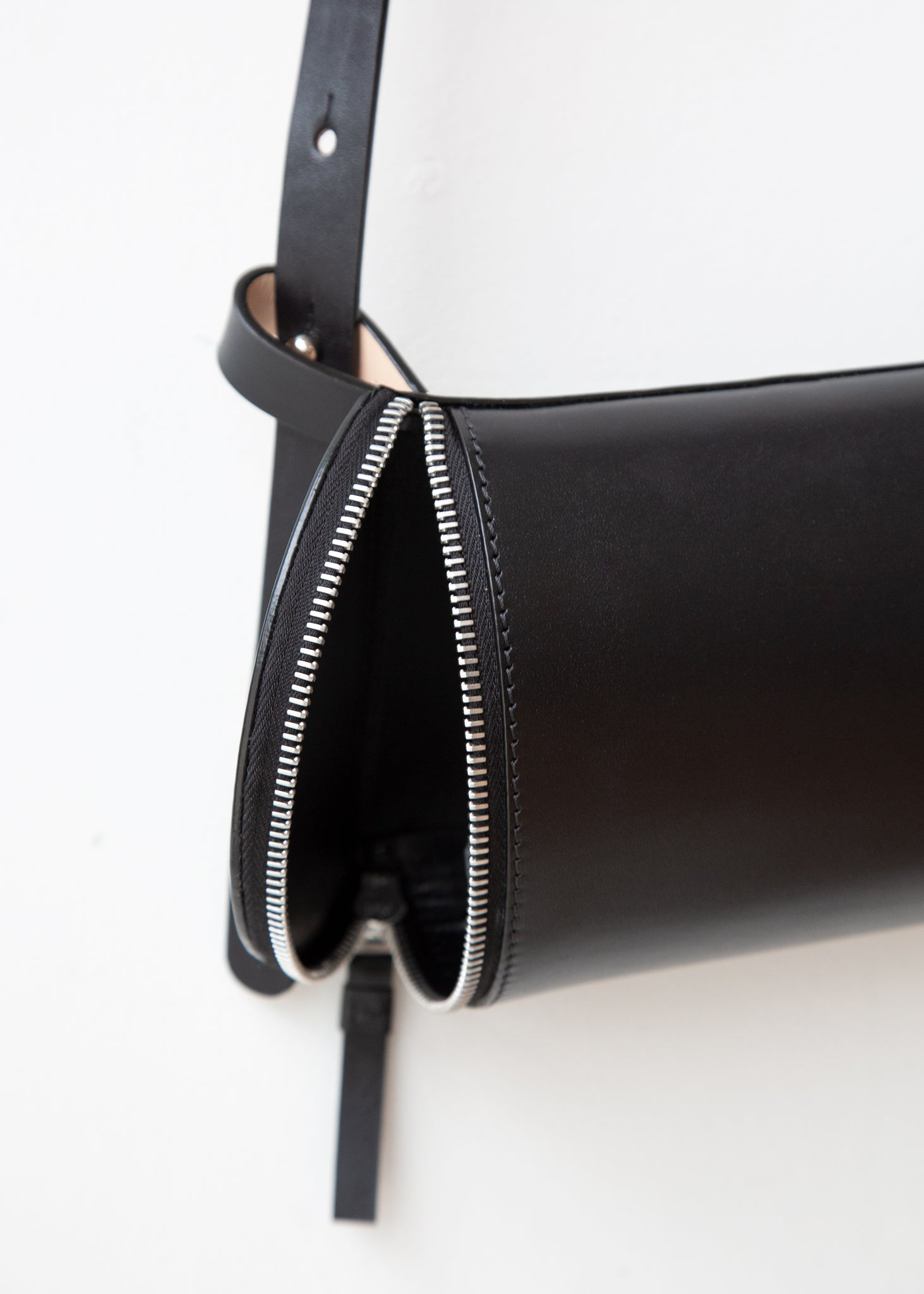 Beltpack in Smooth Black Leather - SOLD OUT