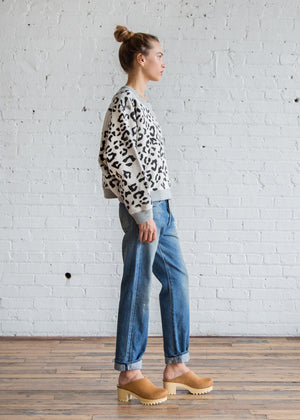 Calder Blake Dorothea Sweatshirt Cheetah - SOLD OUT