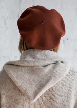Clyde Rohmer Beret Brick Red - SOLD OUT