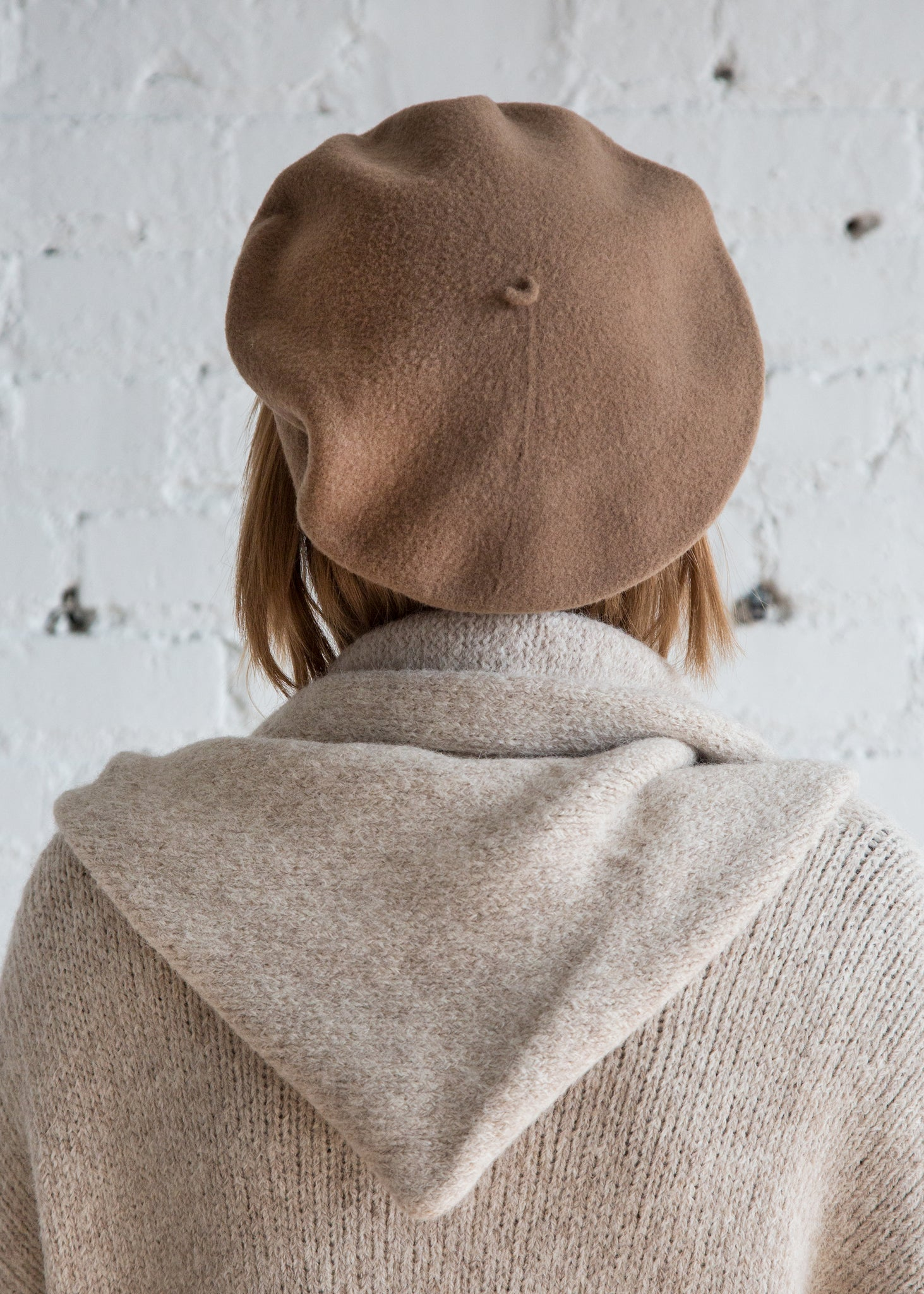 Clyde Rohmer Beret Camel - SOLD OUT