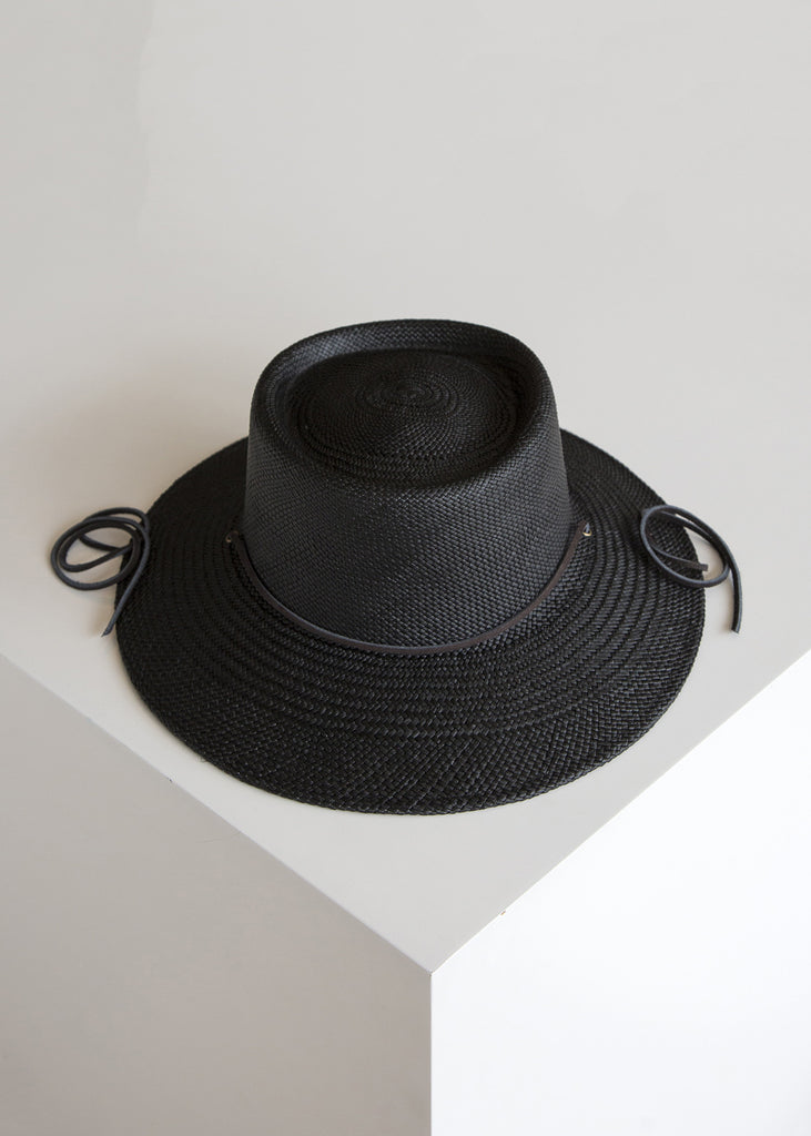 Clyde Telescope Hat Black
