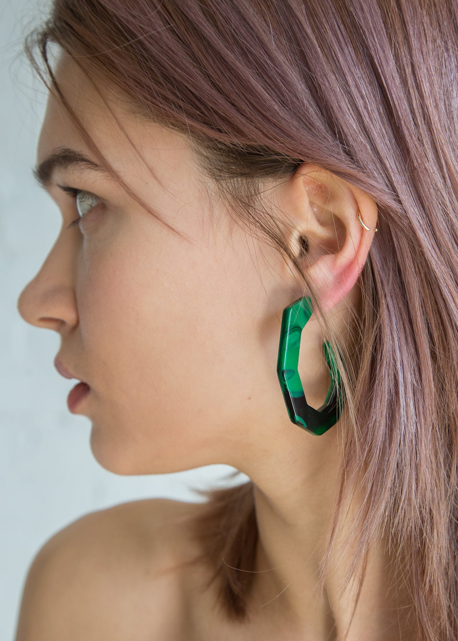 Rachel Comey Baby Factor Earring Malachite - SOLD OUT