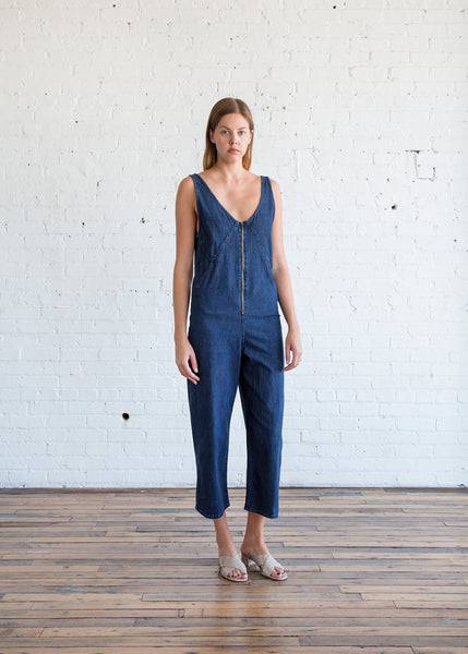 Rachel Comey Bender Jumpsuit in Ink Wash