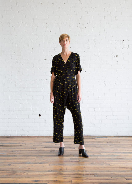 Rachel Comey Dispatch Jumpsuit Black