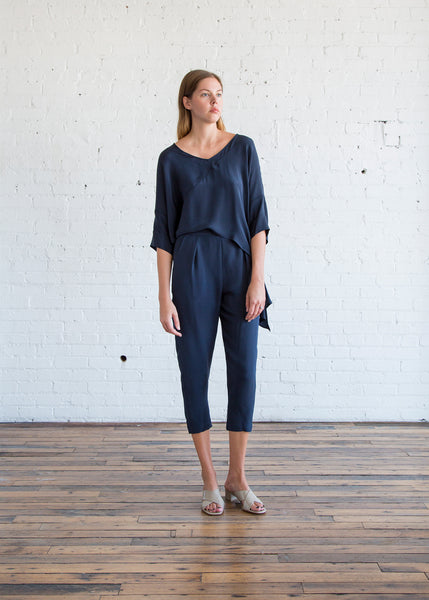 Rachel Comey Grateful Jumpsuit in Midnight
