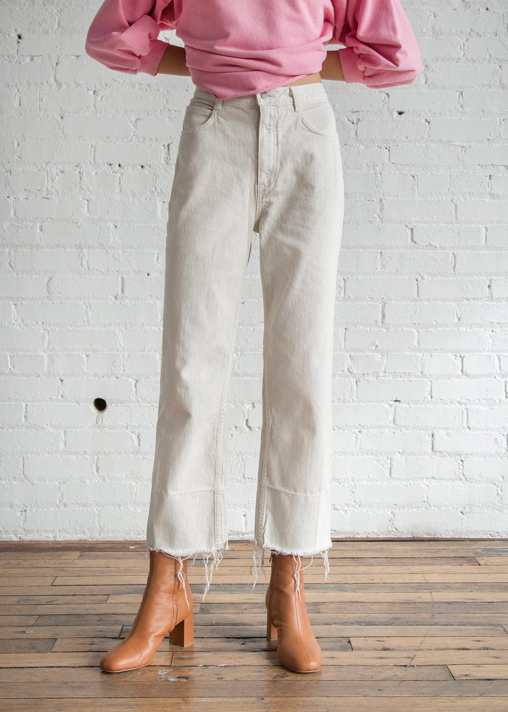 Rachel Comey Slim Legion Pant Dirty White