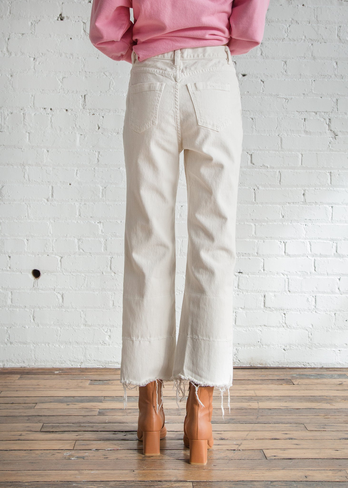 Rachel Comey Slim Legion Pant Dirty White - SOLD OUT