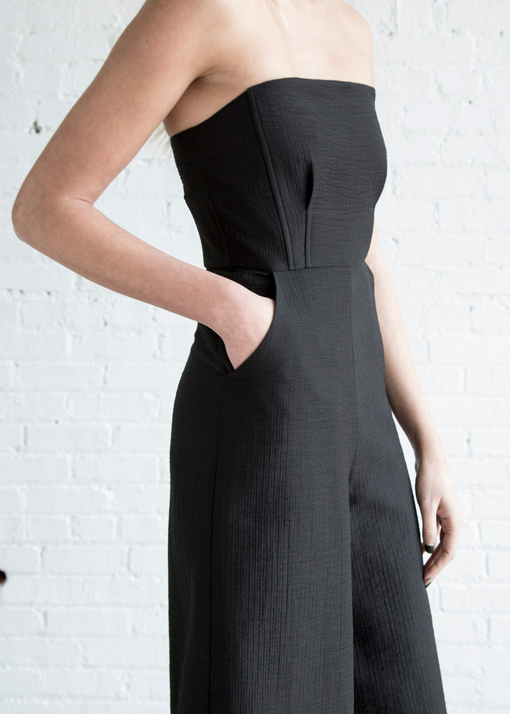 Rachel Comey Summons Jumpsuit Black