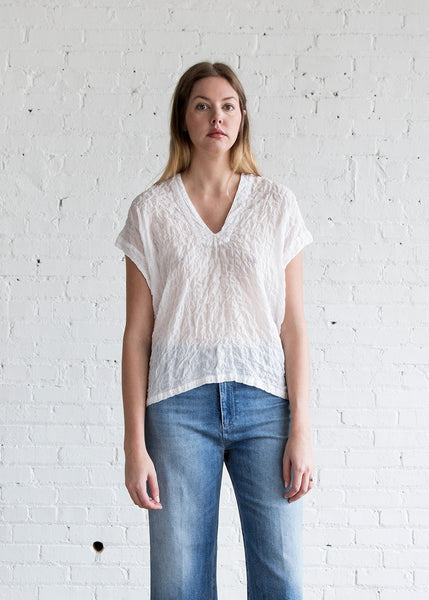 Atelier Delphine Celeste Top White - SOLD OUT