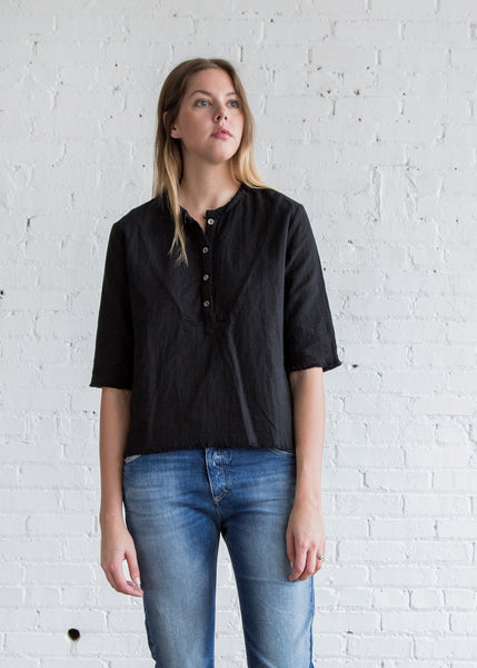 Atelier Delphine Finley Top Black - SOLD OUT