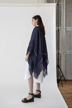 Bordy Cape in Navy