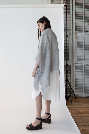 Gerli Cape in Grey - SOLD OUT