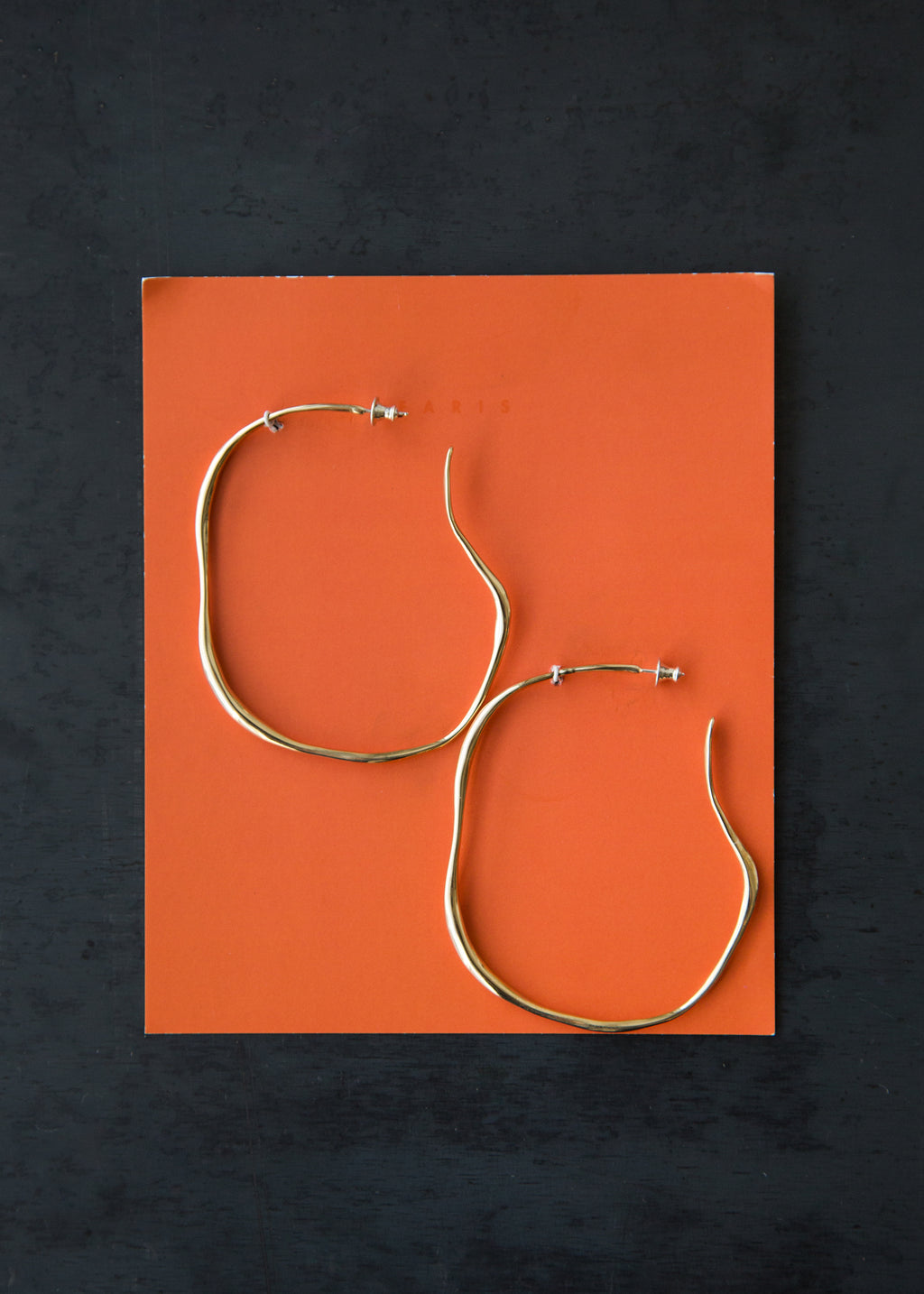 Large Vero Hoops Bronze