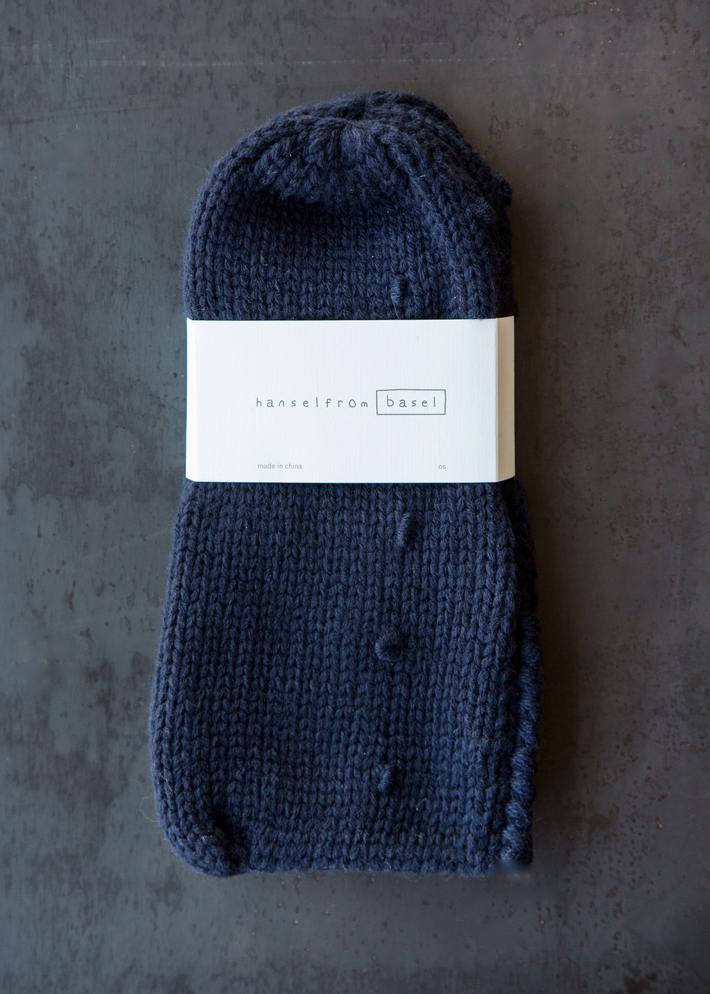 Puffy Bootie Cotton Navy