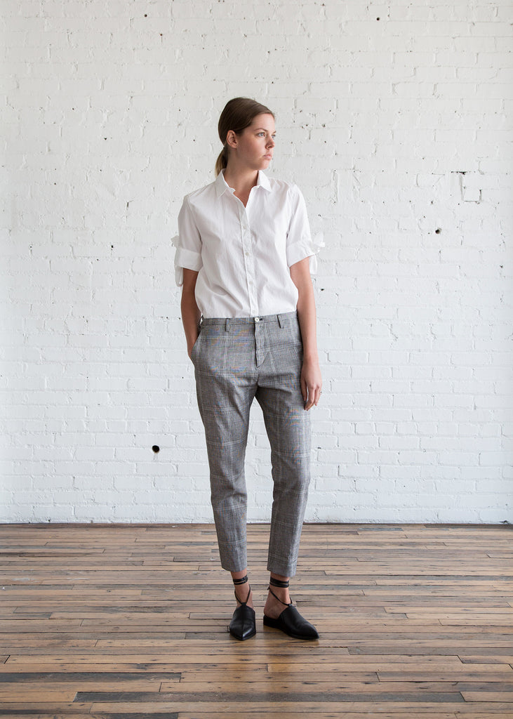 Hope Krissy Trouser Grey Check