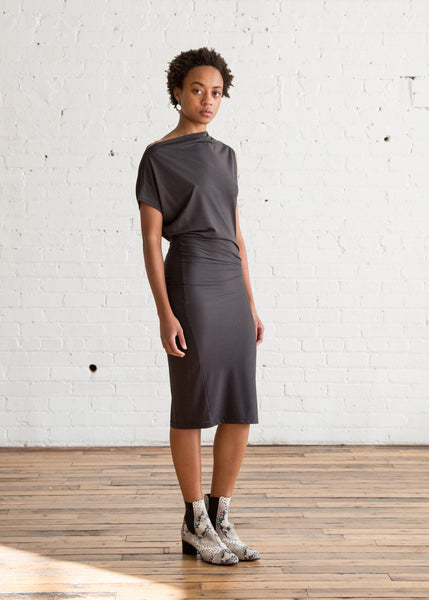 Isabel Marant Etoile Rumba Dress Faded Black $235