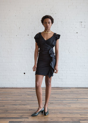 Topaz Dress Black $135