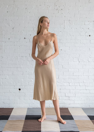 Organic by John Patrick Bias Long Slip Nude
