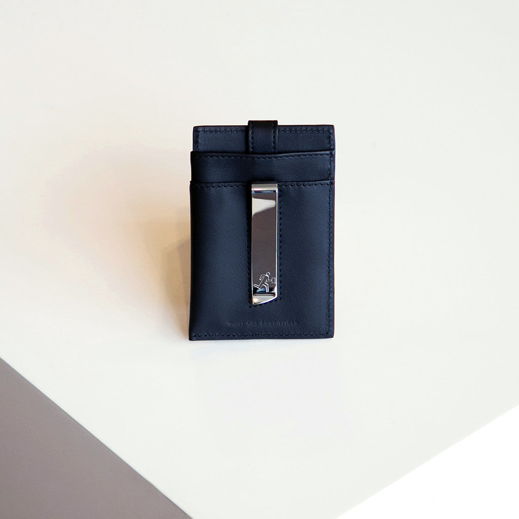 Want Les Essentiels Kennedy Money Clip Wallet Black