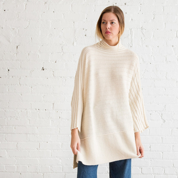 Lauren Manoogian Askew Pullover White