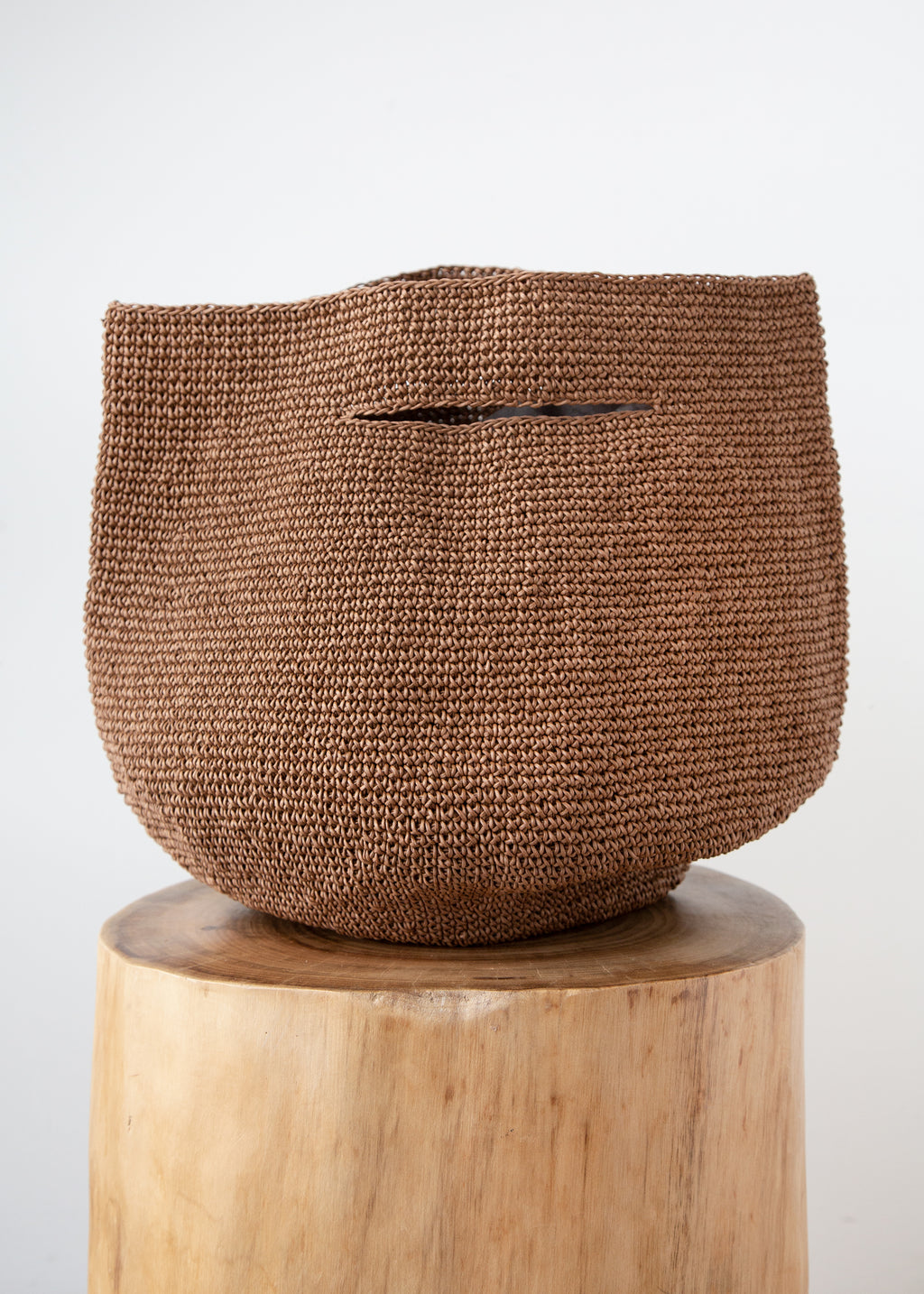 Bowl Bag in Brown