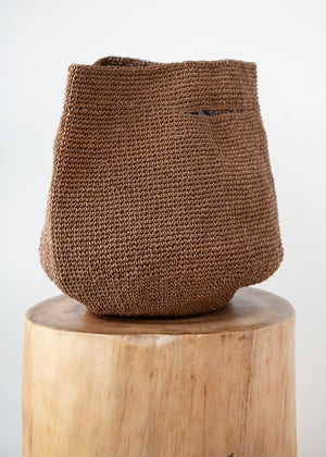 Bowl Bag in Brown - SOLD OUT