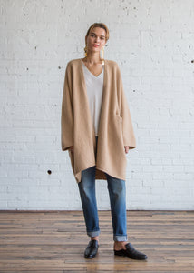 Lauren Manoogian Cashmere Dolman Cardigan Honey - SOLD OUT