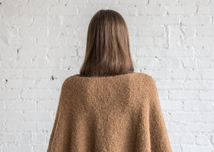 Lauren Manoogian Horizontal Poncho Caramel - SOLD OUT