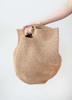 Paper Bowl Bag in Oak - SOLD OUT