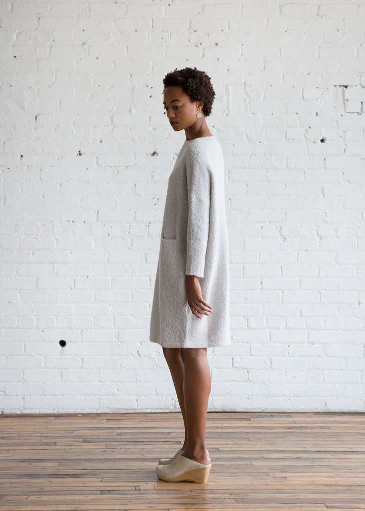 Lauren Manoogian Trapezoid Dress Overcast - SOLD OUT