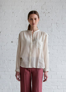 MASSCOB Edie Shirt Ivory