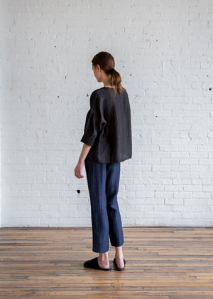 Elaine Pant in Navy