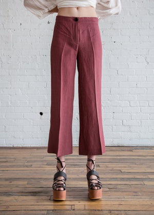 MASSCOB Bonny Pants Plum
