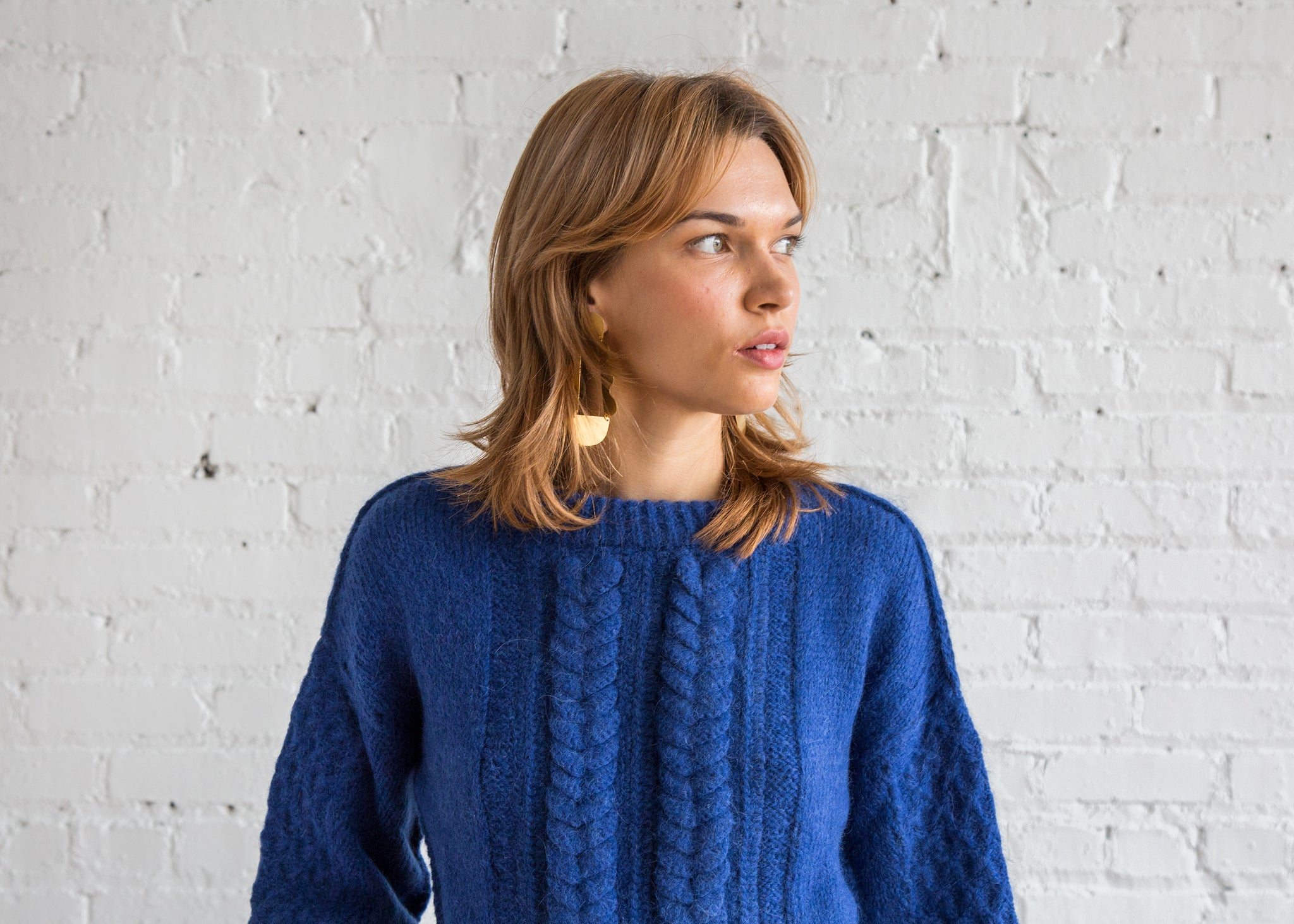 ed49dd2b2 Anouk Pullover Cobalt Brushed Alpaca - SOLD OUT – Finefolk