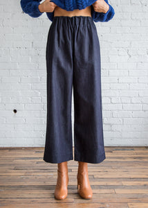 M. Patmos Elsa Pant Dark Indigo Cotton Denim