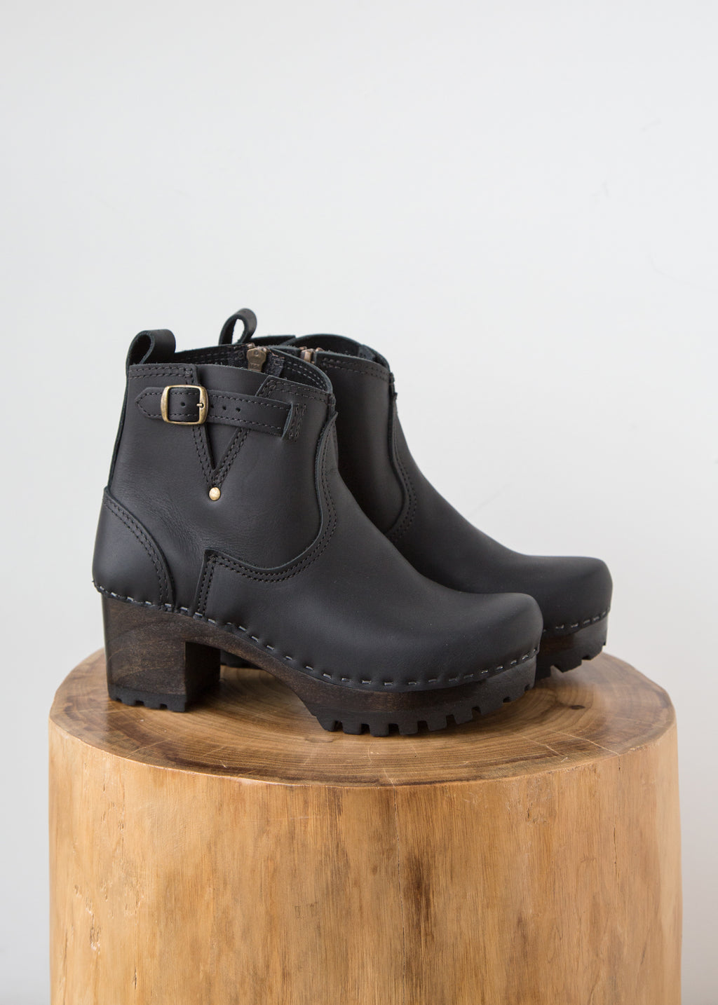 No.6 5' Buckle Boot Mid Black Coffee - SOLD OUT