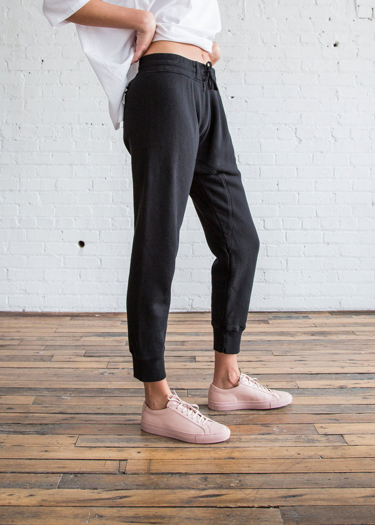 Oak Slim Sweatpant Black