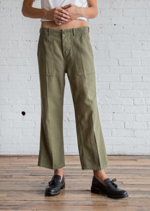 r13 Straight Utility Pants Fatigue Olive