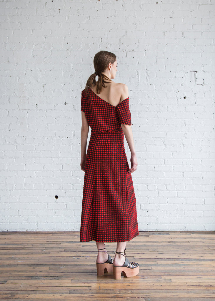 Rachel Comey Pout Dress Red