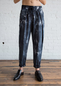 Raquel Allegra Drawstring Pant Midnight
