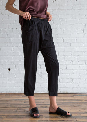 Relaxed Pant in Black - SOLD OUT