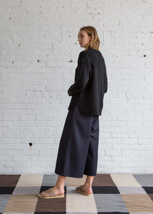 Rauqel Allegra Oversize Crew Black - SOLD OUT