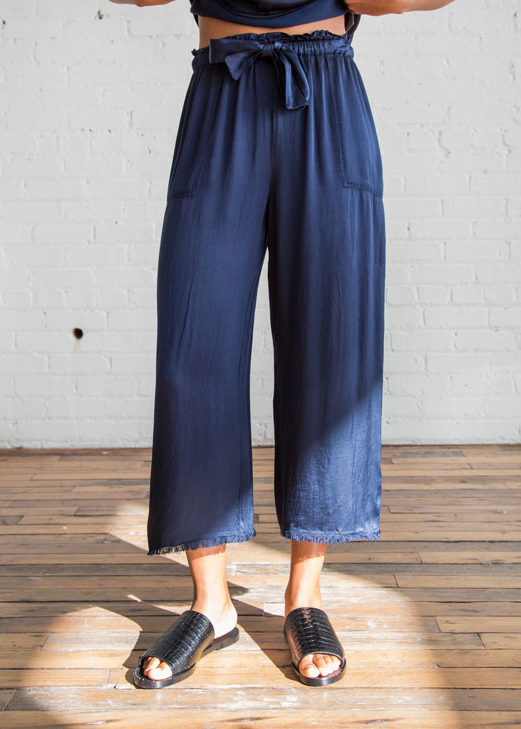 DENIM - Denim trousers Raquel Allegra
