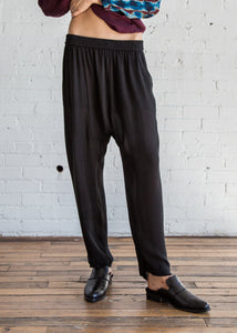 Raquel Allegra Sunday Pant Black - SOLD OUT