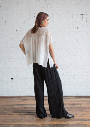 Wide Leg Pant in Black - SOLD OUT