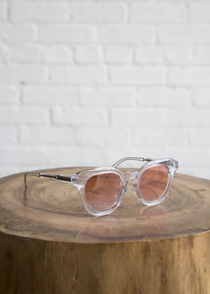Rejina Pyo Sunglasses Clear Frame/Blush Lens