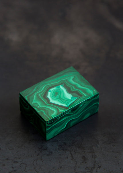 Kathleen Whitaker Medium Malachite Gembox Malachite