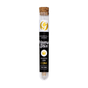 Organic Hemp Stix Cone Frosted Lime 150mg