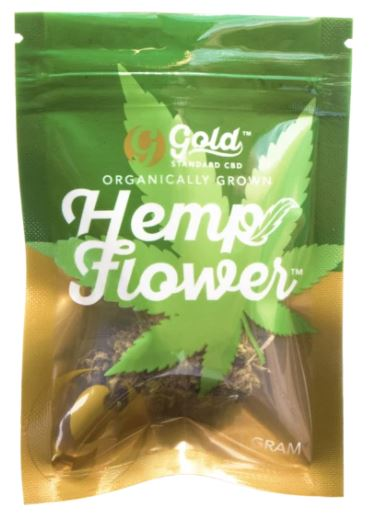 Organic CBD Hemp Flower Hawaiian Haze 1Gram